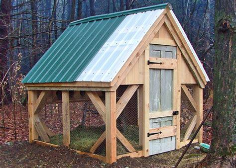 Small Home Kits Oklahoma 8x8 Chicken Coop Medium Sized Hen House Pre Cut Kit Free