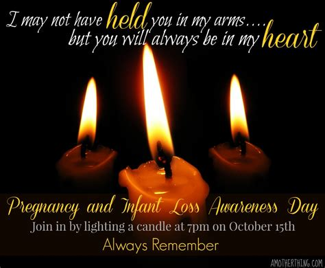 A Candle Loses Nothing By Lighting Another Candle A Wave Of Light Pregnancy And Infant Loss Awareness Day