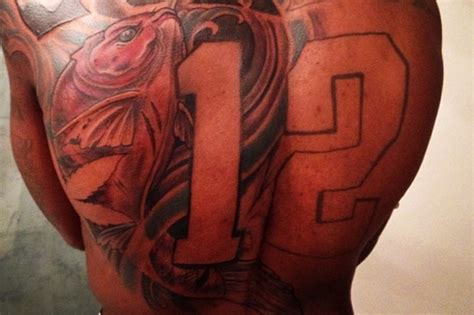 josh gordon tattoo cleveland browns josh gordon shows new back