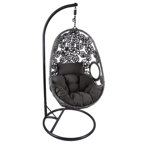 hanging wicker chair bentley garden wicker rattan patio charles bentley hanging garden patio outdoor rattan swing