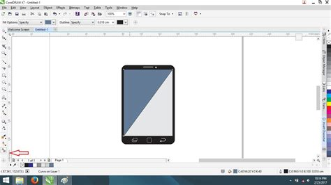 membuat layout buletin dengan coreldraw cara membuat flat design hp dengan corel draw pintar