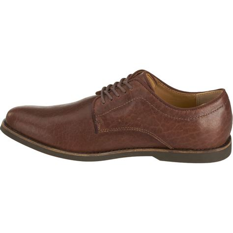 new mens sebago brown horween bison leather norwich oxford