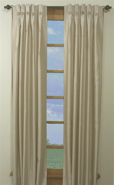 Window Box Curtains Artisan Box Pleated Curtain Panels