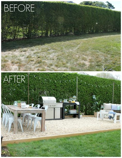 backyard makeovers before and after 10 beautiful outdoor makeovers and sweet words from our