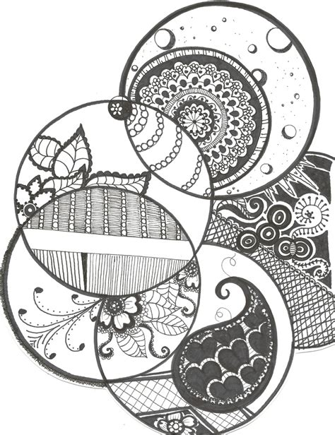 circle pattern drawings tumblr 70 best zentangle circles images on pinterest doodles