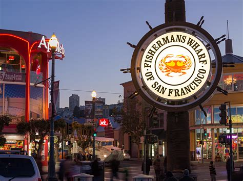 fisherman s wharf new crab wheel glows with savings thanks to ge leds ge
