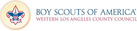 boy scouts of america logo boy scouts western los angeles county council
