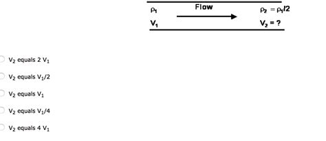 conduit cross sectional area a fluid flows steadily through a pipe with a unifo