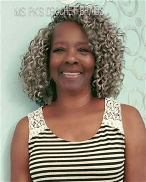 salt and pepper braids for black women twist hair crochet braids and curls on pinterest