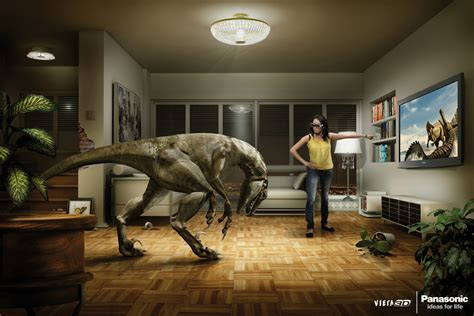 how 3d design is changing brand marketing qa graphics panasonic viera 3d back into the tv the inspiration room