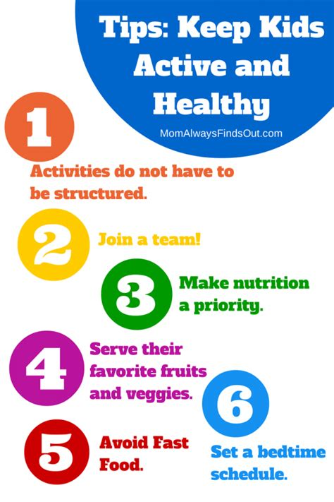 7 To Keep Your Children Active by Healthy Tips Ways To Stay Active And Healthy