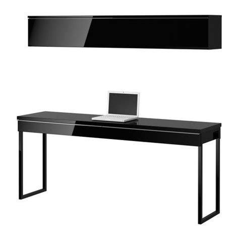 besta 30 al 2 best 197 burs desk combination high gloss black ikea