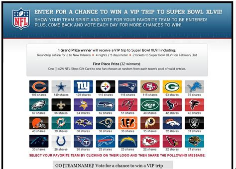 Ticketmaster Super Bowl Sweepstakes - ticketmaster nflfanfever trip to super bowl xlvii sweepstakes