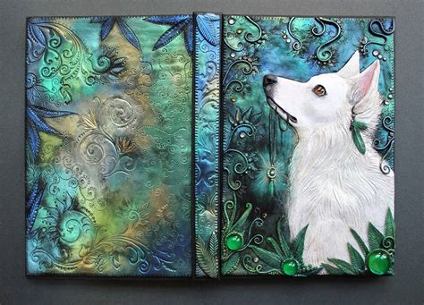 Creative Handmade Book Covers - handmade 3d book covers out of a fairytale