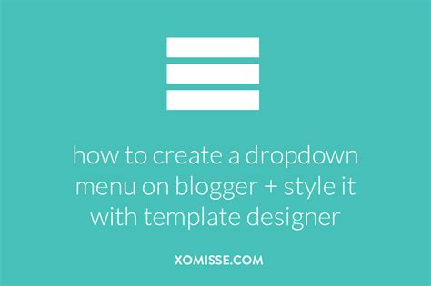 dropdown menu template add a drop menu that can be styled with template