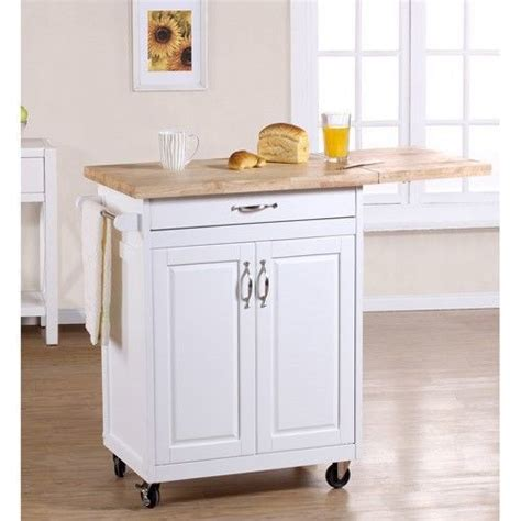 Kitchen Island Cutting Board Kitchen Cart White Storage Island Rolling Cabinet Chopping Cutting Board Counter Has Leaf But
