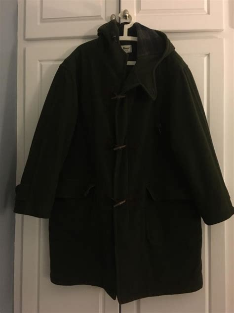 ll bean ll bean s hooded wool toggle duffel coat