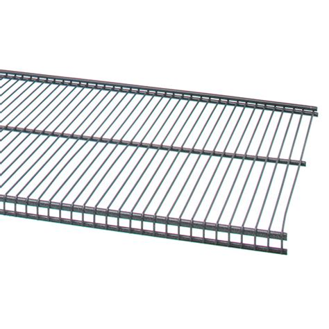freedomrail 16 in profile wire shelving granite in