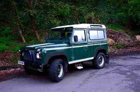 purchase used 1984 land rover defender 90 2 5 turbo diesel