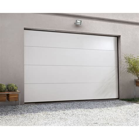 Porte Sectionnelle De Garage by Porte De Garage Sectionnelle Artens H 200 X L 300 Cm