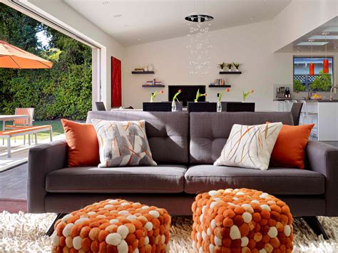 maison et decoration une maison en gris et orange planete deco a homes world
