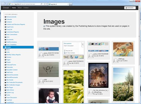 simple jquery plugin template image collections