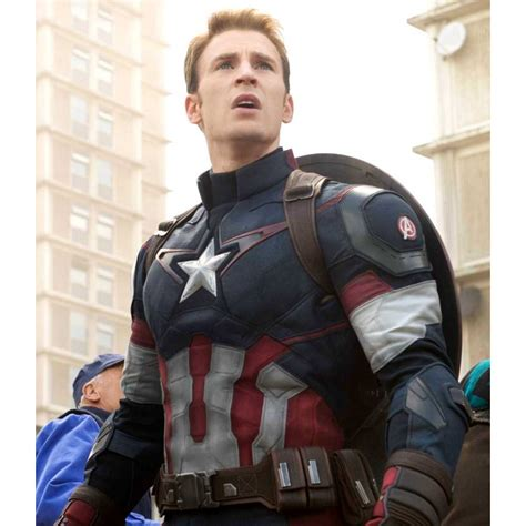 Captain America Age Of Ultron Age Of Ultron Captain America Jacket The Leather Lodge