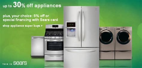 sears kitchen appliances sale appliance sales sears kenmore appliance sale