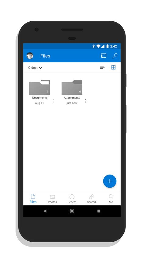 onedrive for android onedrive for android tab navigation clintonfitch