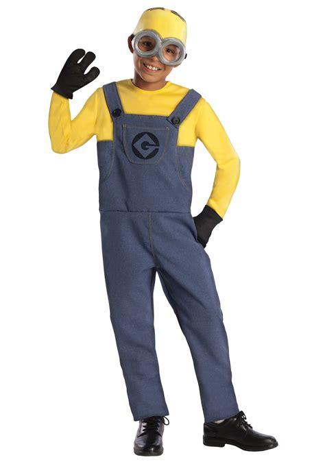 minion costumes boys minion dave costume