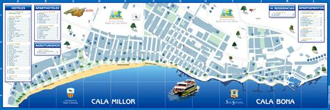 Karpet Karet Calya cala bona maps and brochures