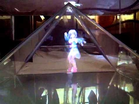 diy 3d holographic projection pyramid ostendo technology developing hologram projectors for