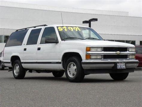 how to work on cars 1999 chevrolet suburban 2500 on board diagnostic system chevrolet suburban white 1999 california mitula cars