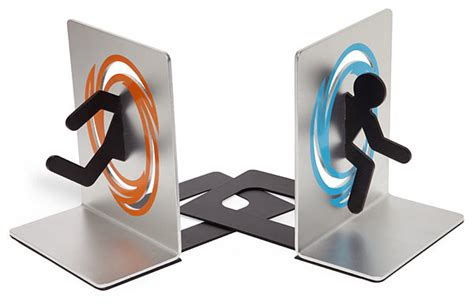 portal images portal bookends thinkgeek