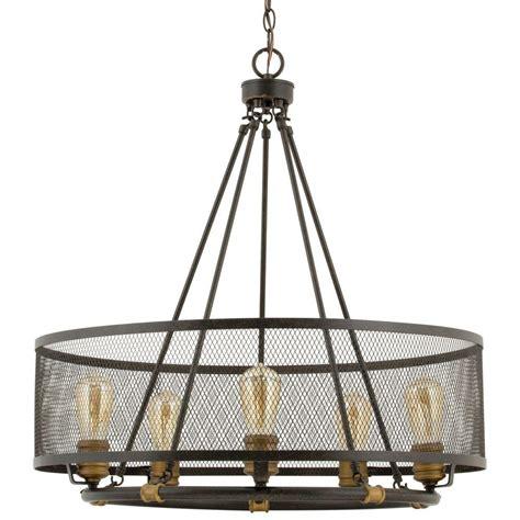 progress lighting trestle collection progress lighting heritage collection 5 light forged