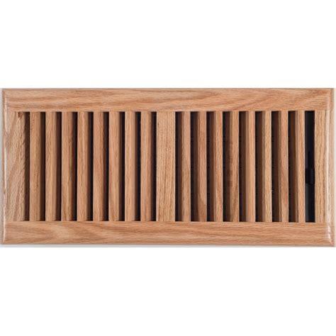 light oak wood ducted heating floor vent 150x350mm floor