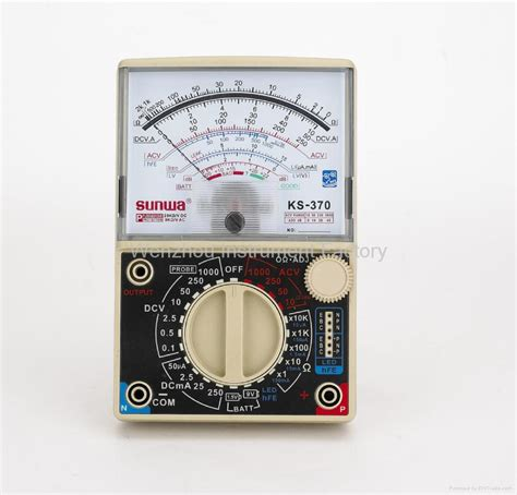 Multimeter Analog Sunwa analogue multimeter ks 390 sunwa china manufacturer