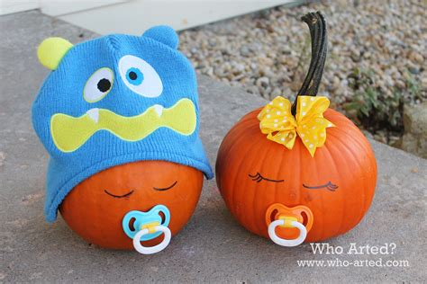 pumpkin baby alternatives to carving pumpkins who arted