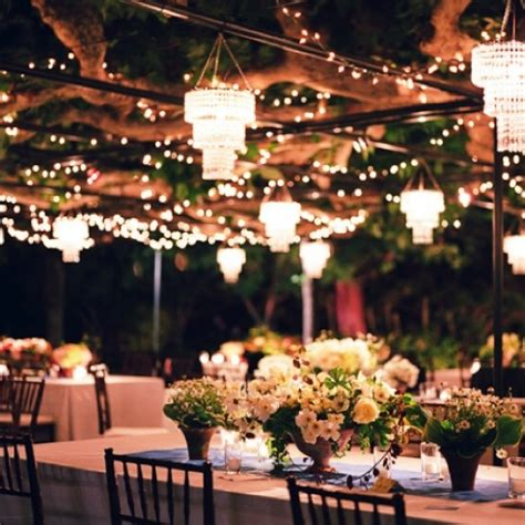Outdoor Wedding Reception Lighting Ideas Anything Outside And A Canopy Is Stunning Wedding This Is What My Reception Would