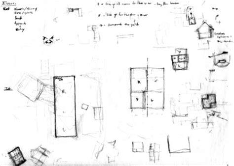 2d Kitchen Design Architectural Process Schematic Design