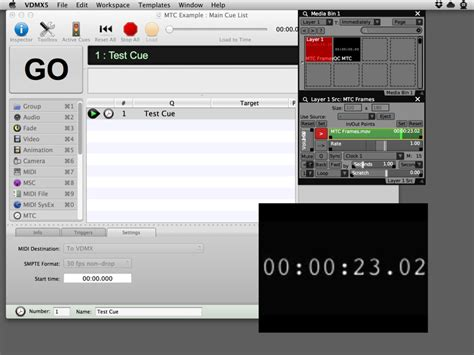 video format qlab receiving midi smpte time code mtc in vdmx vdmx mac