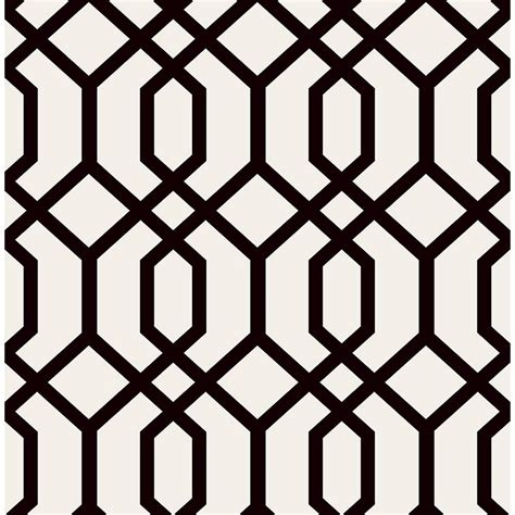 black and white lattice wallpaper brewster trellis black montauk wallpaper fd23270 the