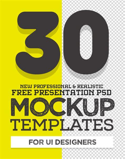 free psd mockup templates 30 fresh mock ups freebies