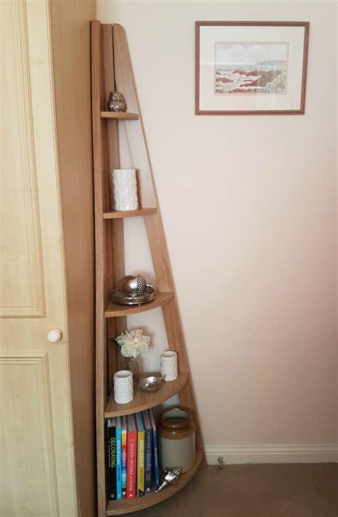 corner ladder bookcase quinn contemporary corner ladder style bookcase from