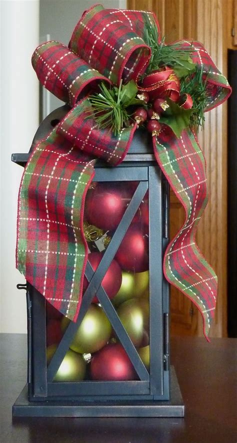 christmas lantern centerpiece love the holidays pinterest
