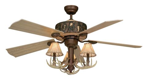 Roost Home Decor by Aireryder Fn52265wp 52 Quot Log Cabin Traditional Ceiling Fan