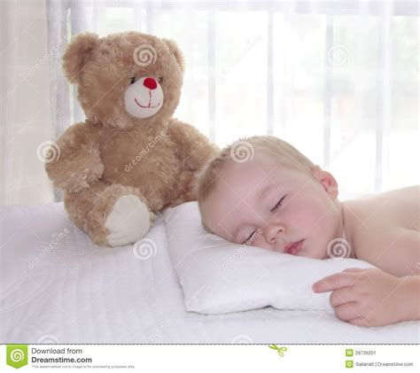 Toddler Sleeping With Pillow by Toddler Boy Is Sleeping On The Pillow Stock Image Image 29739201