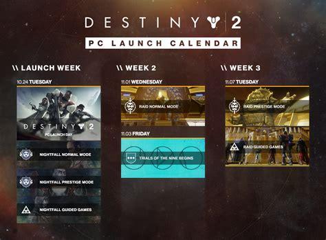 destiny pc leviathan raid unlocks week launch