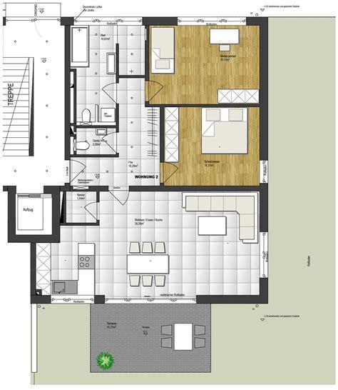 Grundriss Wohnung 85 M2 by Wohnung 2 102 M2 Sturm Wohnbau Gmbh