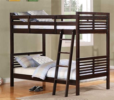 cherry bunk beds dreamfurniture com paula ii bunk bed dark cherry